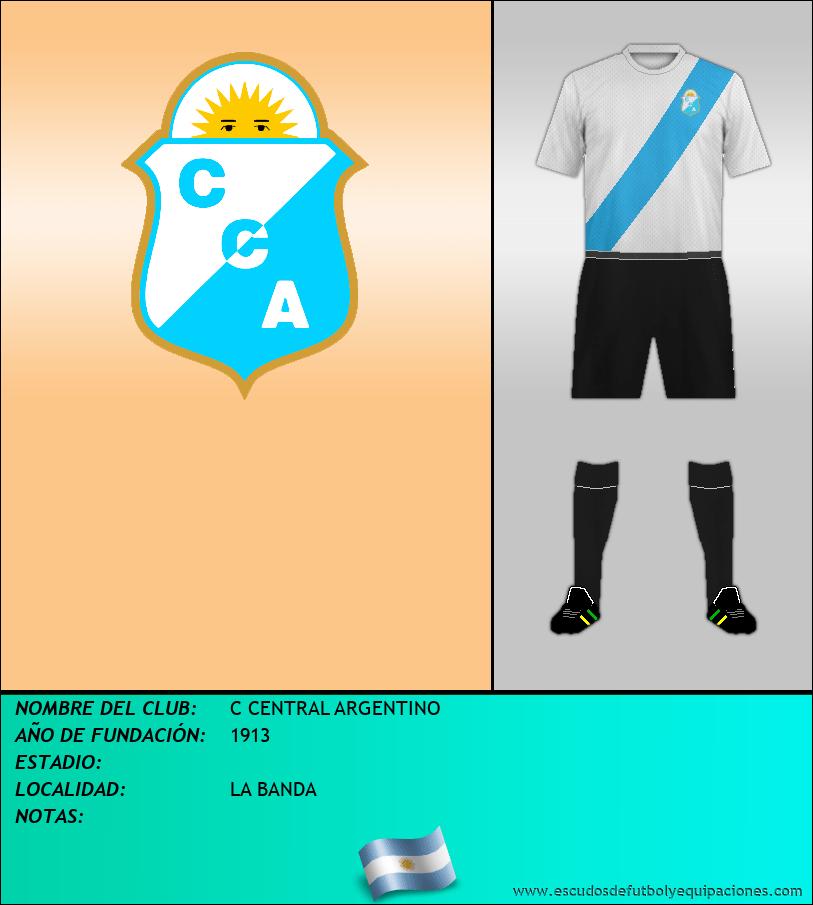 Escudo de C CENTRAL ARGENTINO