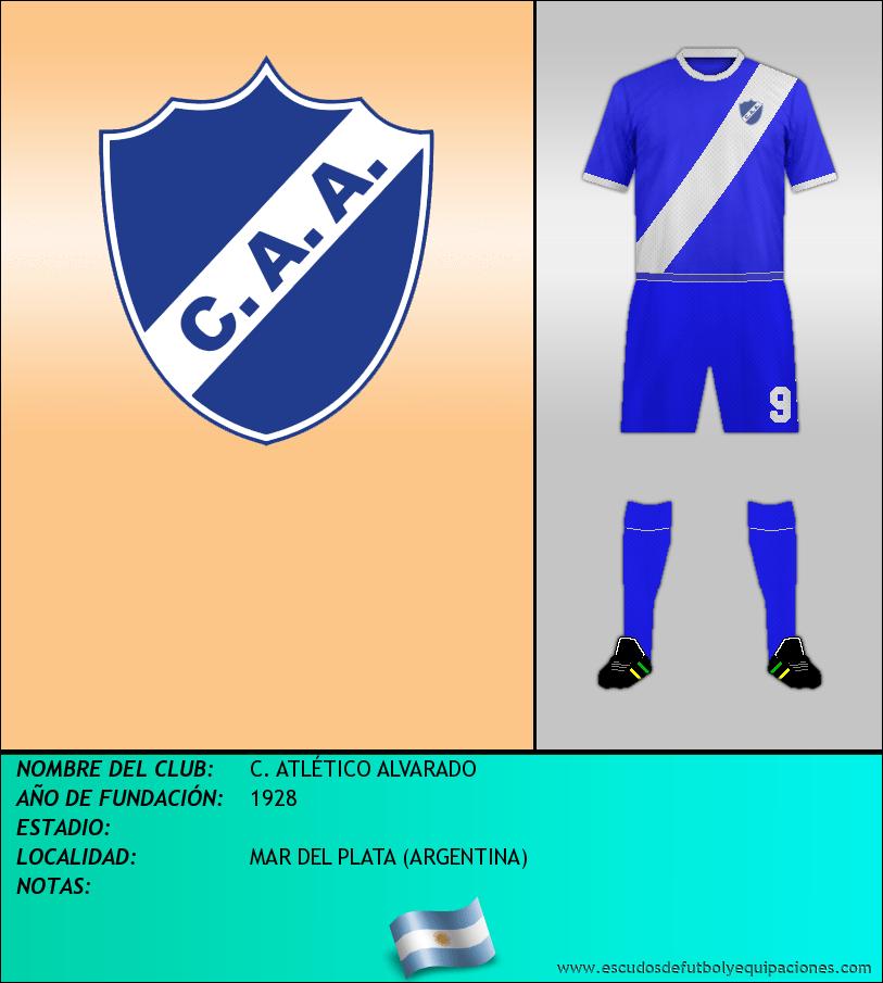 Escudo de C. ATLÉTICO ALVARADO