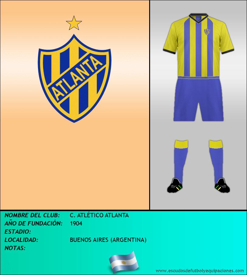 Escudo de C. ATLÉTICO ATLANTA