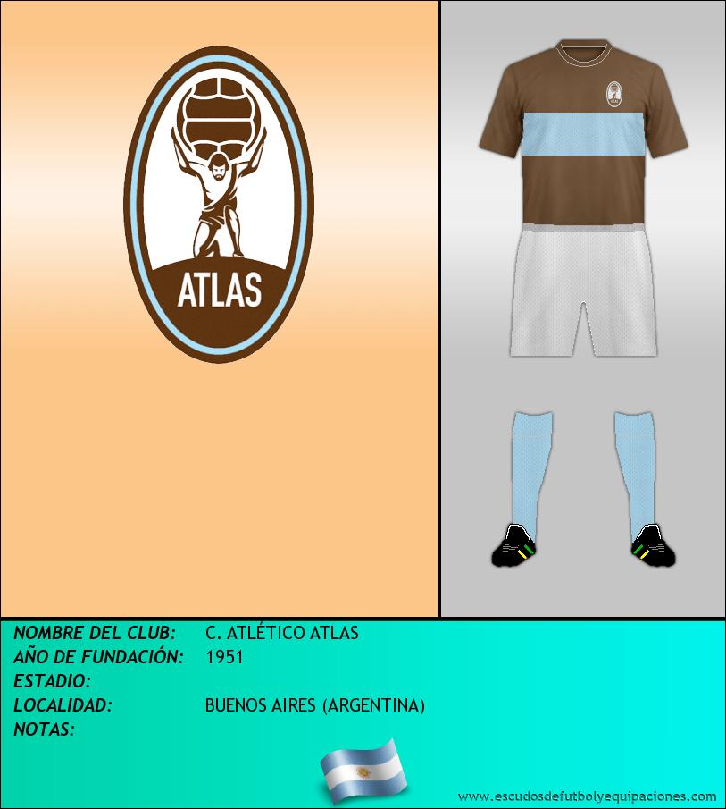 Escudo de C. ATLÉTICO ATLAS