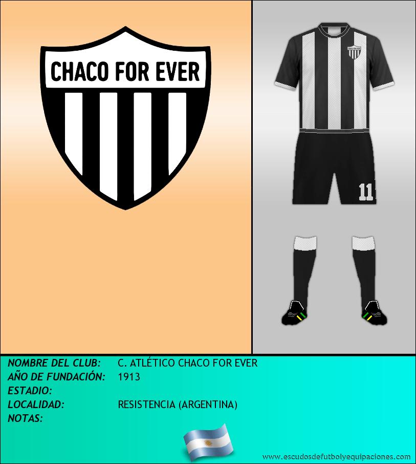 Escudo de C. ATLÉTICO CHACO FOR EVER