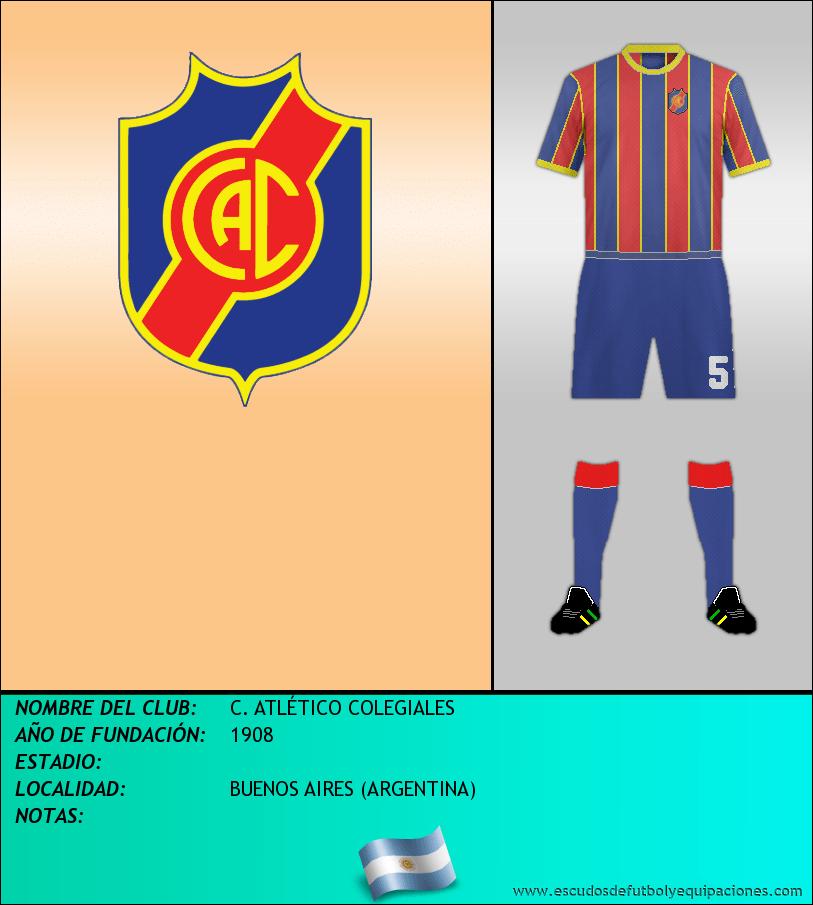 Escudo de C. ATLÉTICO COLEGIALES