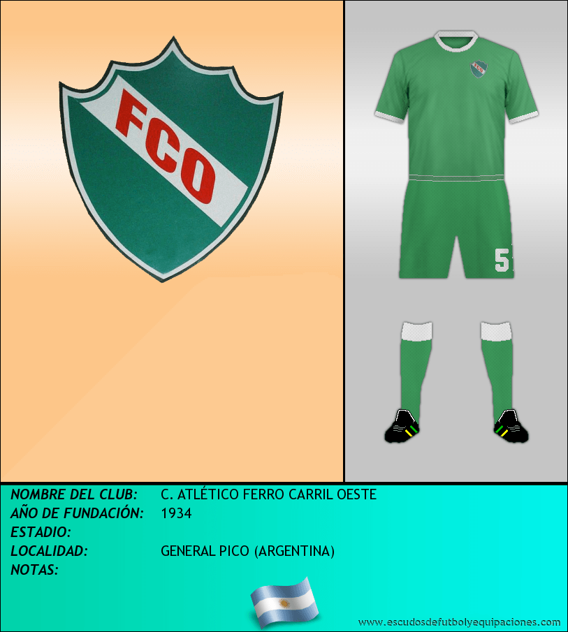 Escudo de C. ATLÉTICO FERRO CARRIL OESTE