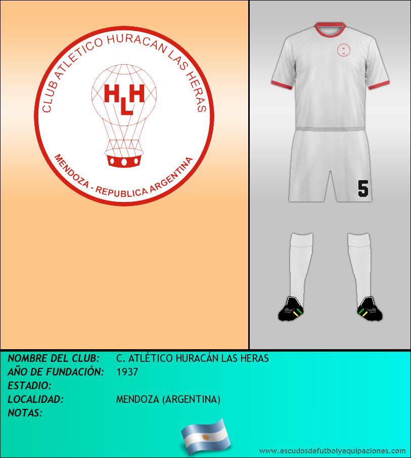 Escudo de C. ATLÉTICO HURACÁN LAS HERAS