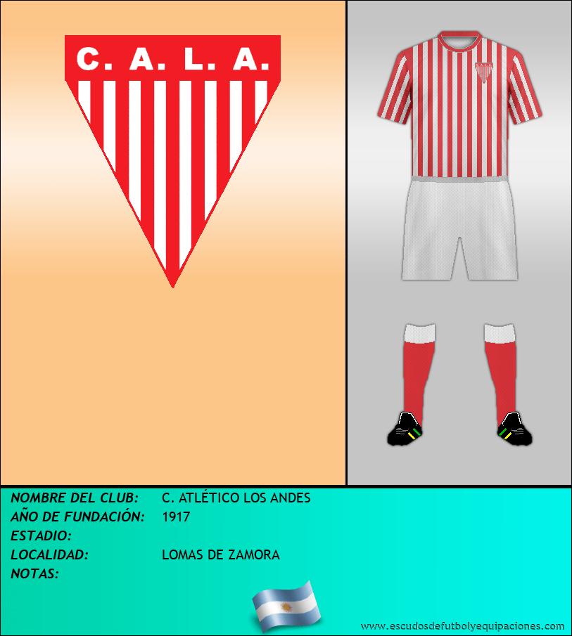 Escudo de C. ATLÉTICO LOS ANDES