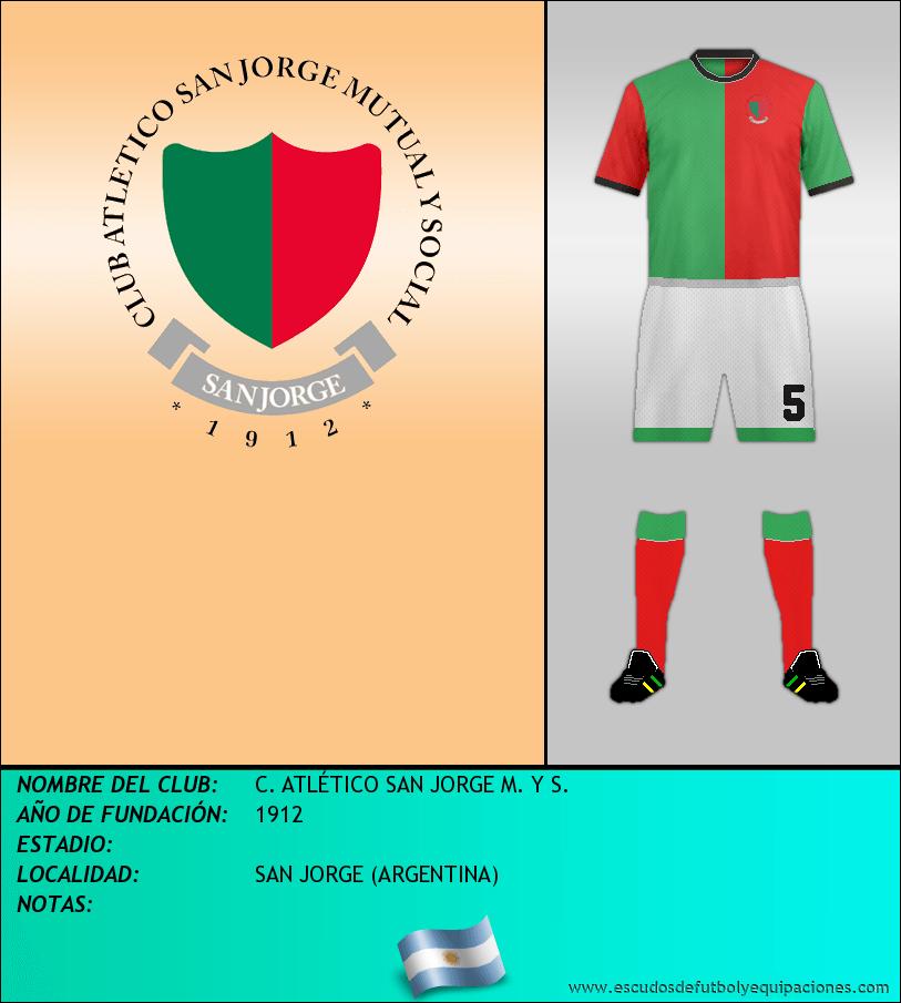 Escudo de C. ATLÉTICO SAN JORGE M. Y S.