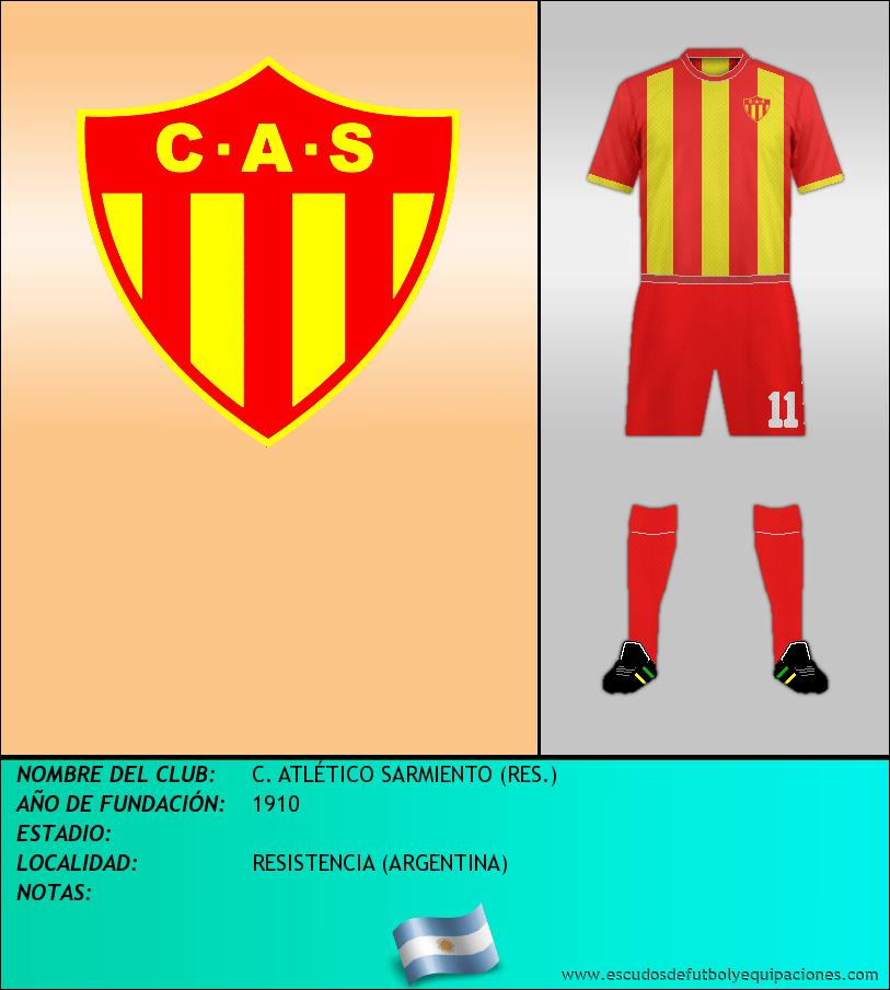 Escudo de C. ATLÉTICO SARMIENTO (RES.)