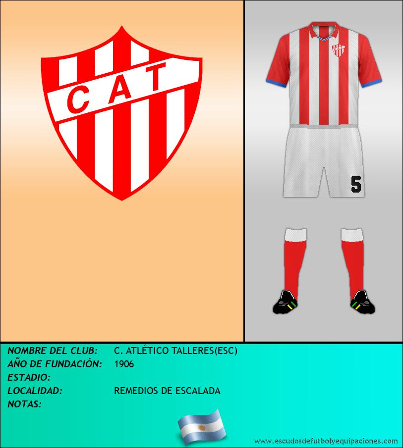 Escudo de C. ATLÉTICO TALLERES(ESC)