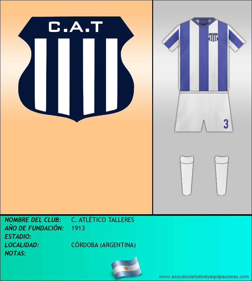 Escudo de C. ATLÉTICO TALLERES