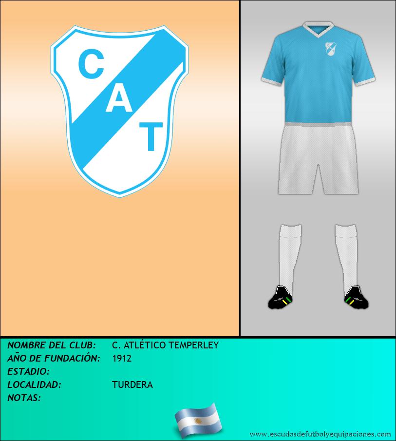 Escudo de C. ATLÉTICO TEMPERLEY