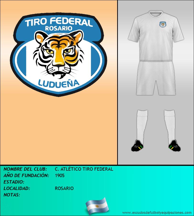 Escudo de C. ATLÉTICO TIRO FEDERAL