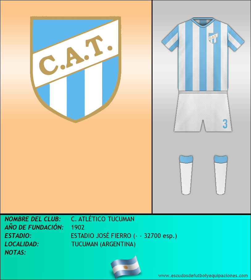 Escudo de C. ATLÉTICO TUCUMAN