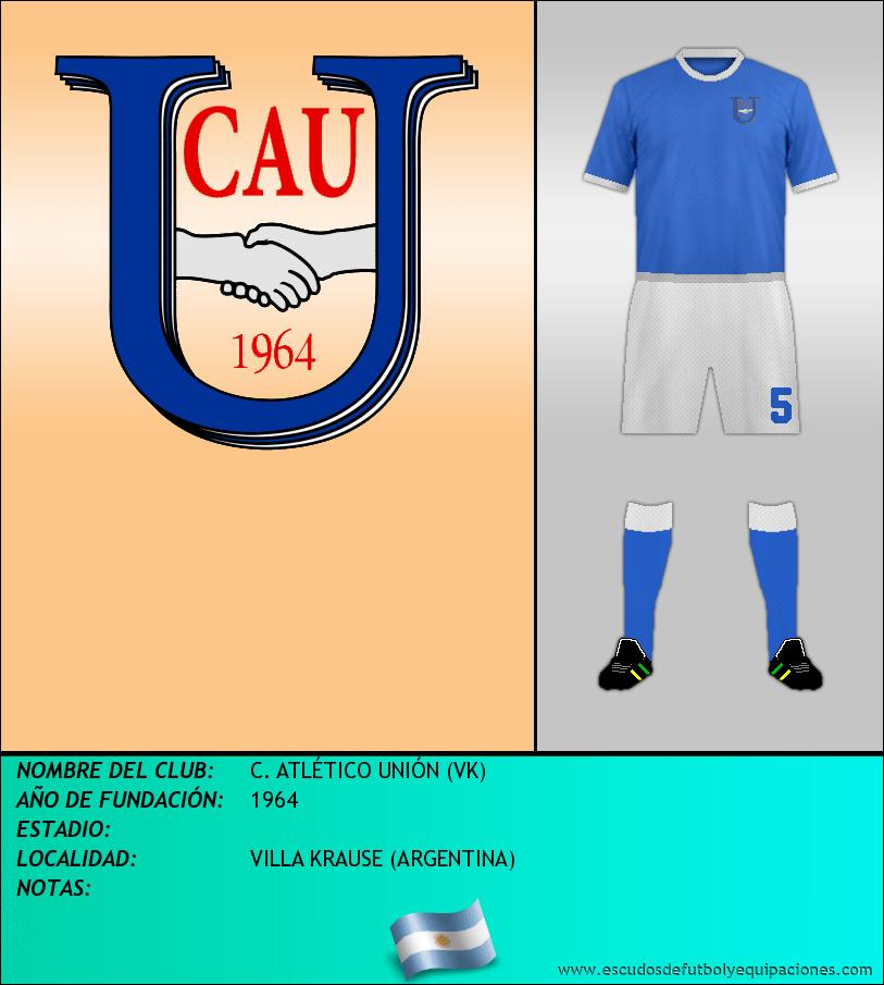 Escudo de C. ATLÉTICO UNIÓN (VK)