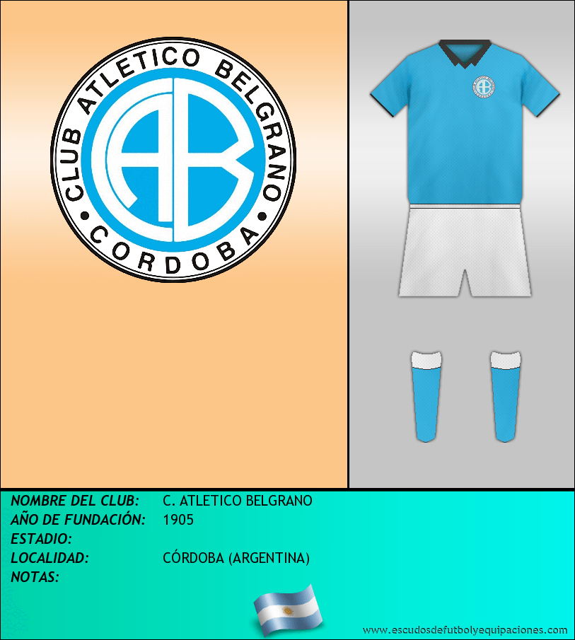 Escudo de C. ATLETICO BELGRANO