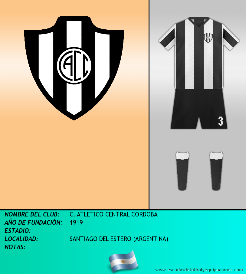 Escudo de C. ATLETICO CENTRAL CORDOBA