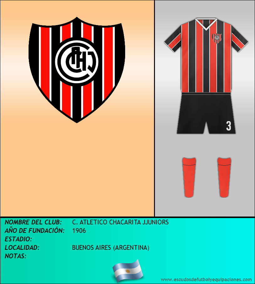 Escudo de C. ATLETICO CHACARITA JJUNIORS