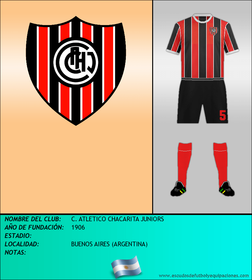 Escudo de C. ATLETICO CHACARITA JUNIORS