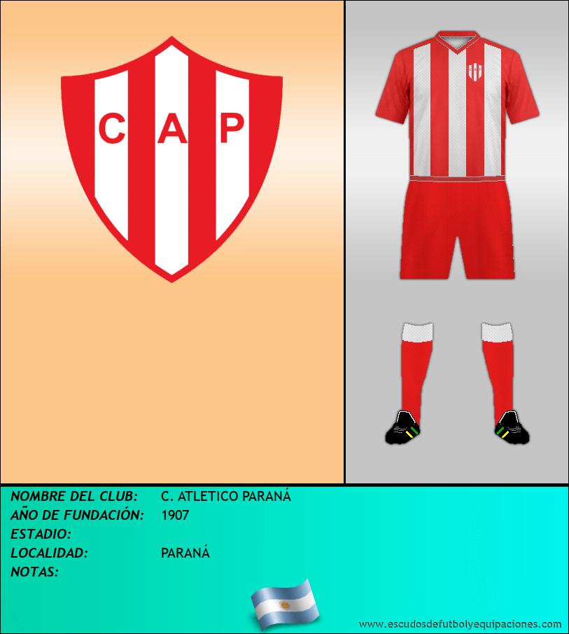 Escudo de C. ATLETICO PARANÁ