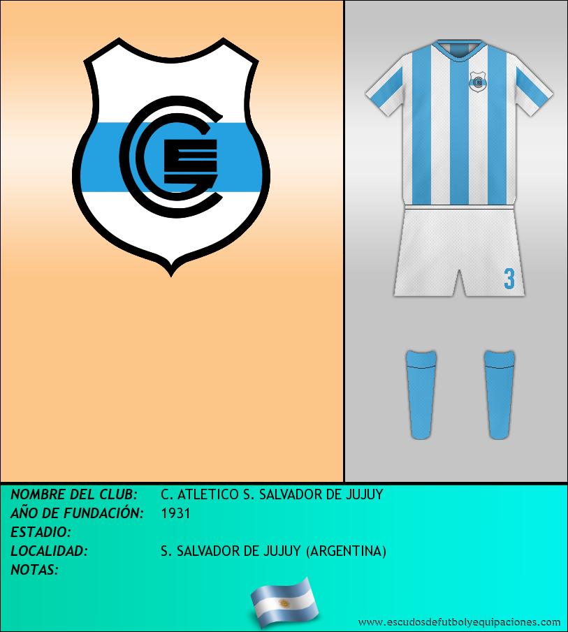 Escudo de C. ATLETICO S. SALVADOR DE JUJUY