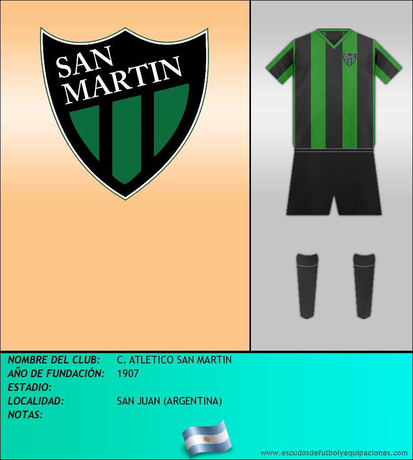 Escudo de C. ATLETICO SAN MARTIN