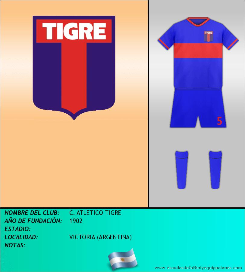 Escudo de C. ATLETICO TIGRE