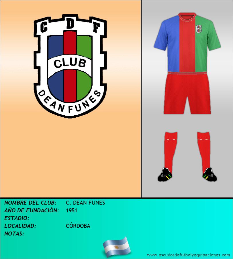 Escudo de C. DEAN FUNES