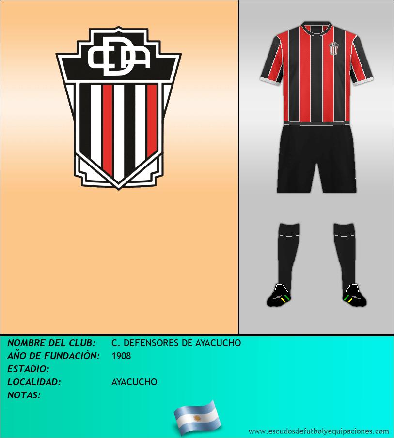 Escudo de C. DEFENSORES DE AYACUCHO