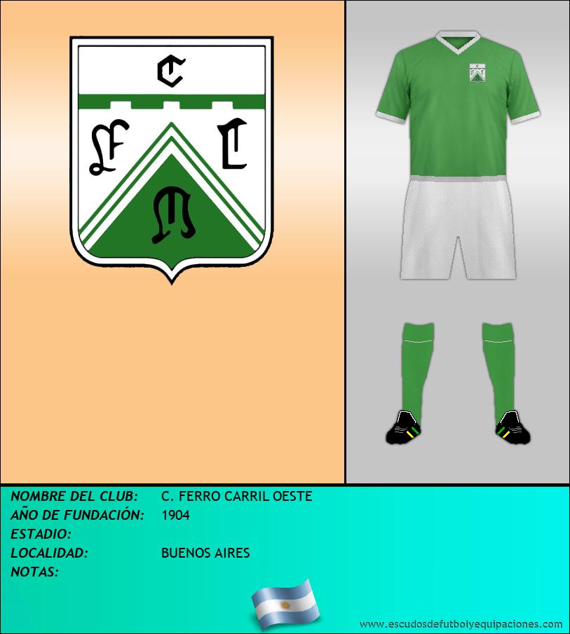 Escudo de C. FERRO CARRIL OESTE