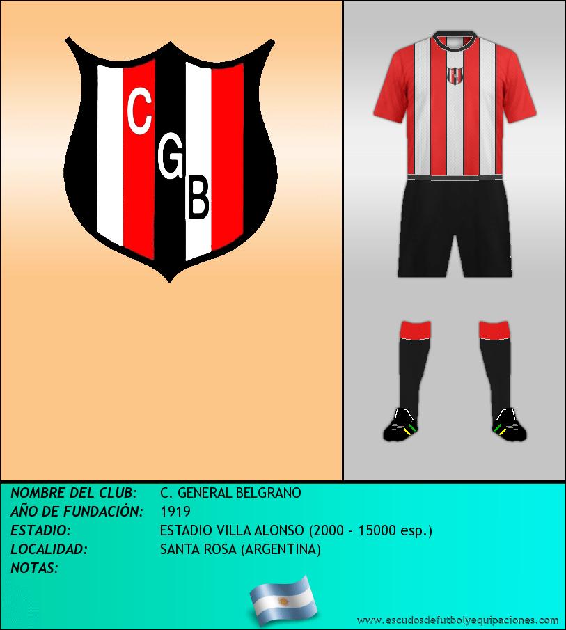 Escudo de C. GENERAL BELGRANO