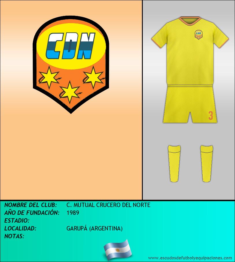 Escudo de C. MUTUAL CRUCERO DEL NORTE
