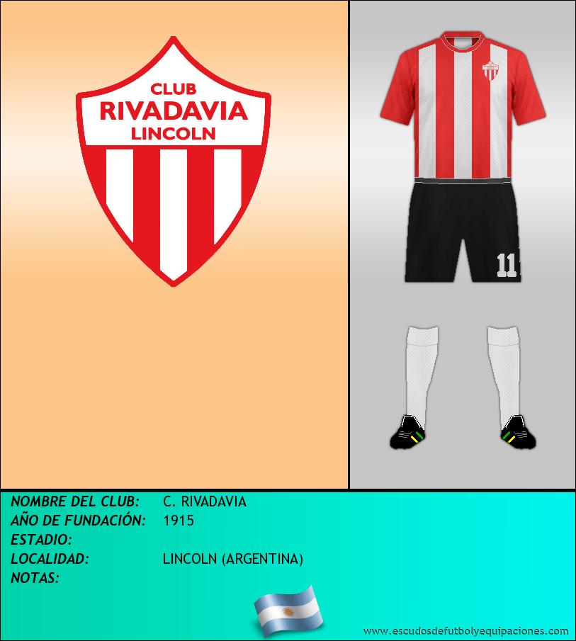 Escudo de C. RIVADAVIA