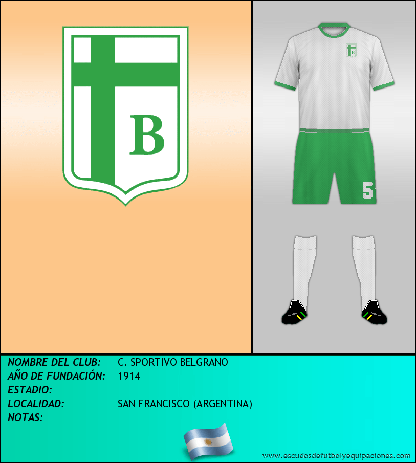 Escudo de C. SPORTIVO BELGRANO