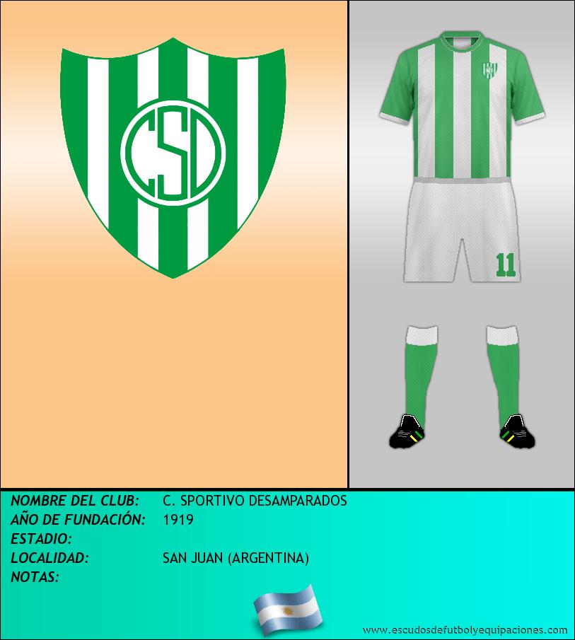 Escudo de C. SPORTIVO DESAMPARADOS
