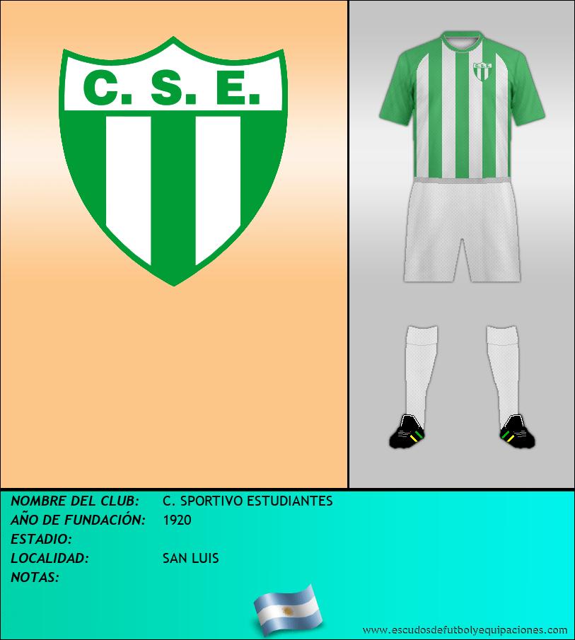 Escudo de C. SPORTIVO ESTUDIANTES
