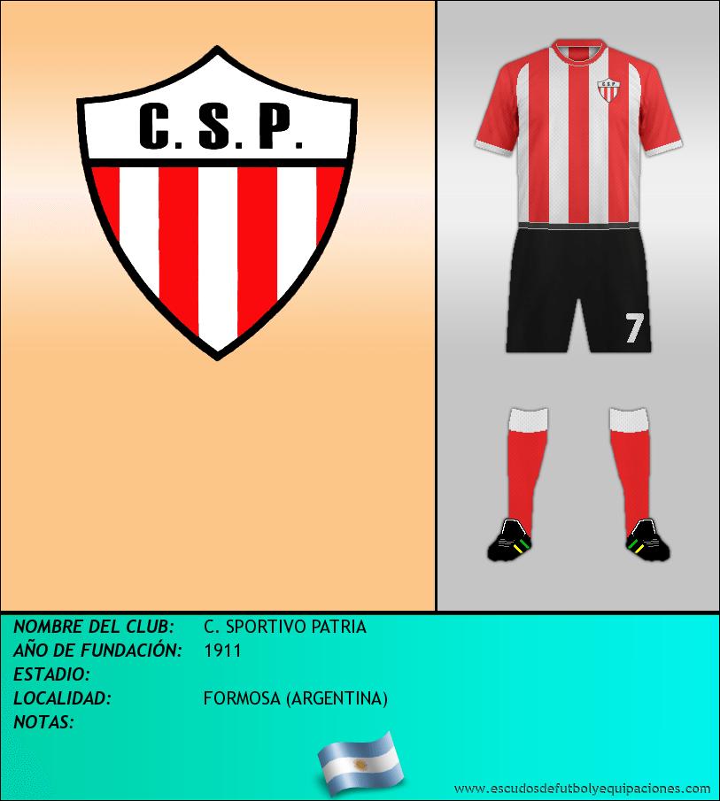 Escudo de C. SPORTIVO PATRIA