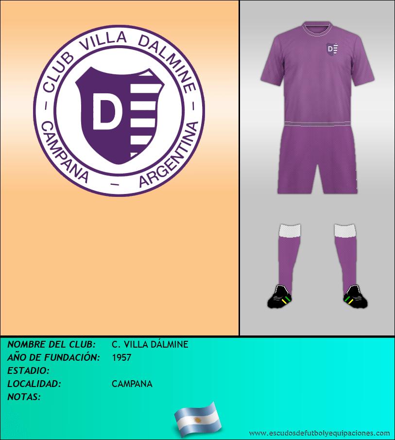 Escudo de C. VILLA DÁLMINE