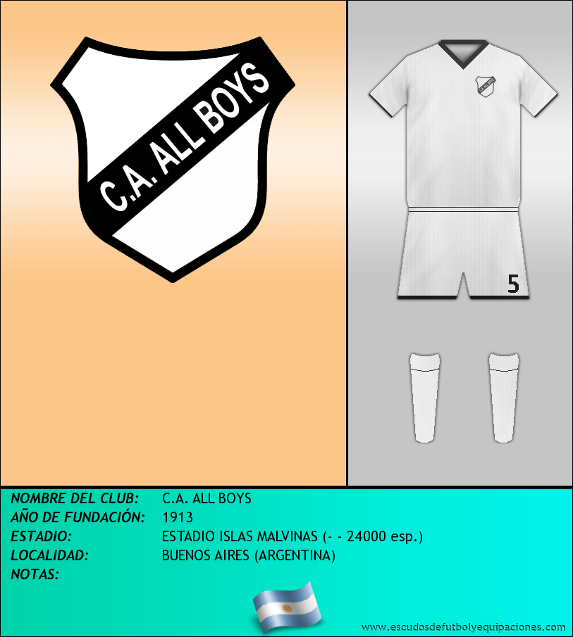 Escudo de C.A. ALL BOYS