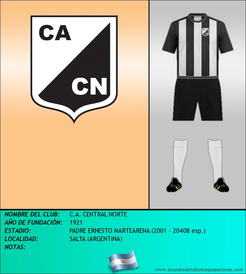 Escudo de C.A. CENTRAL NORTE