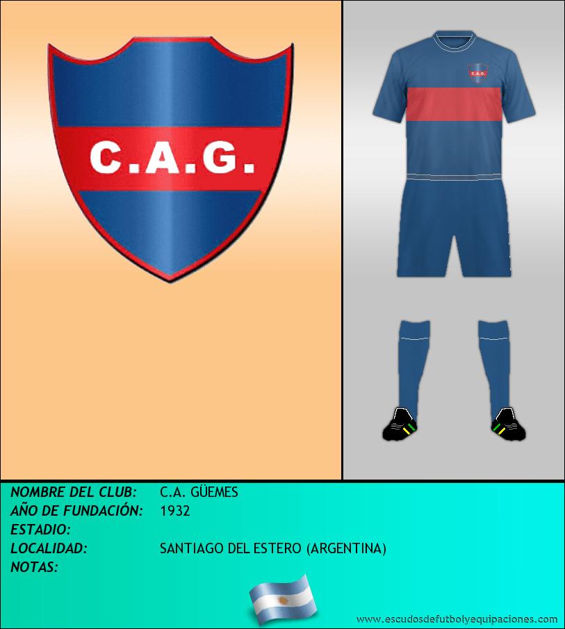 Escudo de C.A. GÜEMES