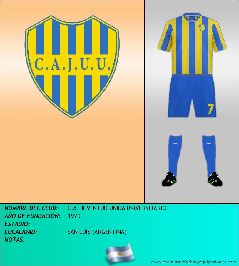 Escudo de C.A. JUVENTUD UNIDA UNIVERSITARIO