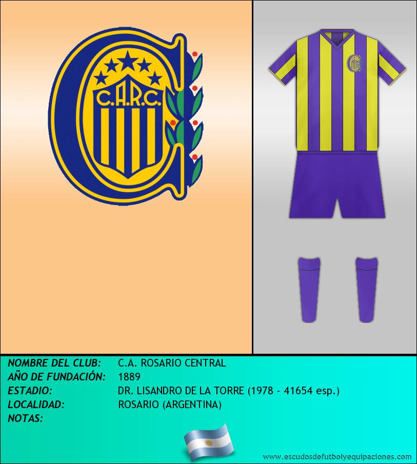 Escudo de C.A. ROSARIO CENTRAL
