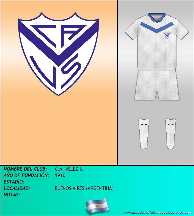 Escudo de C.A. VELEZ S.