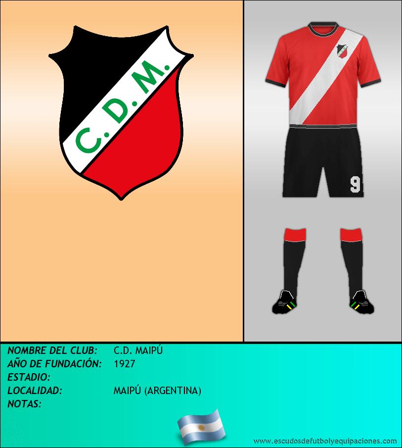 Escudo de C.D. MAIPÚ