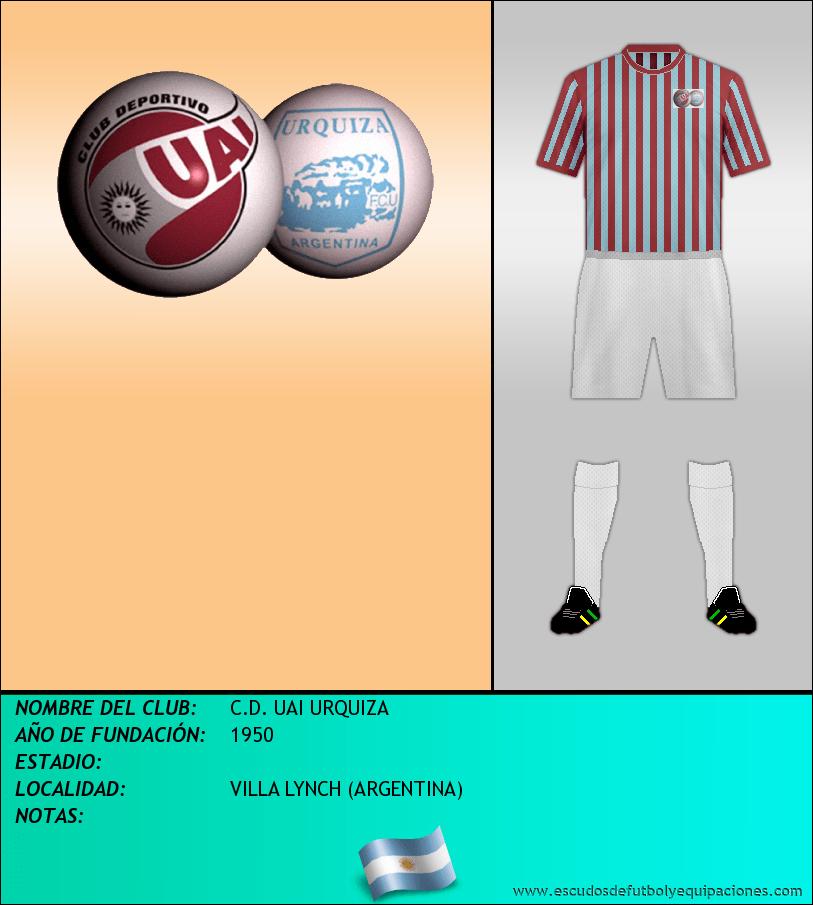 Escudo de C.D. UAI URQUIZA