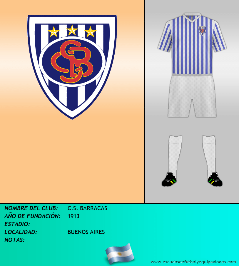Escudo de C.S. BARRACAS