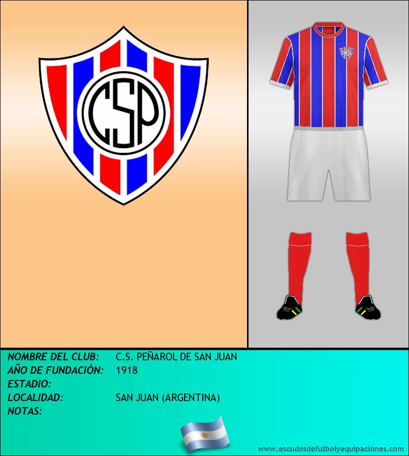 Escudo de C.S. PEÑAROL DE SAN JUAN