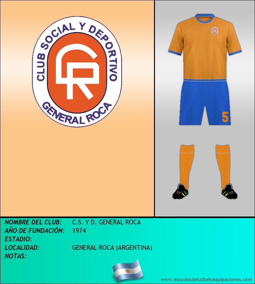 Escudo de C.S. Y D. GENERAL ROCA