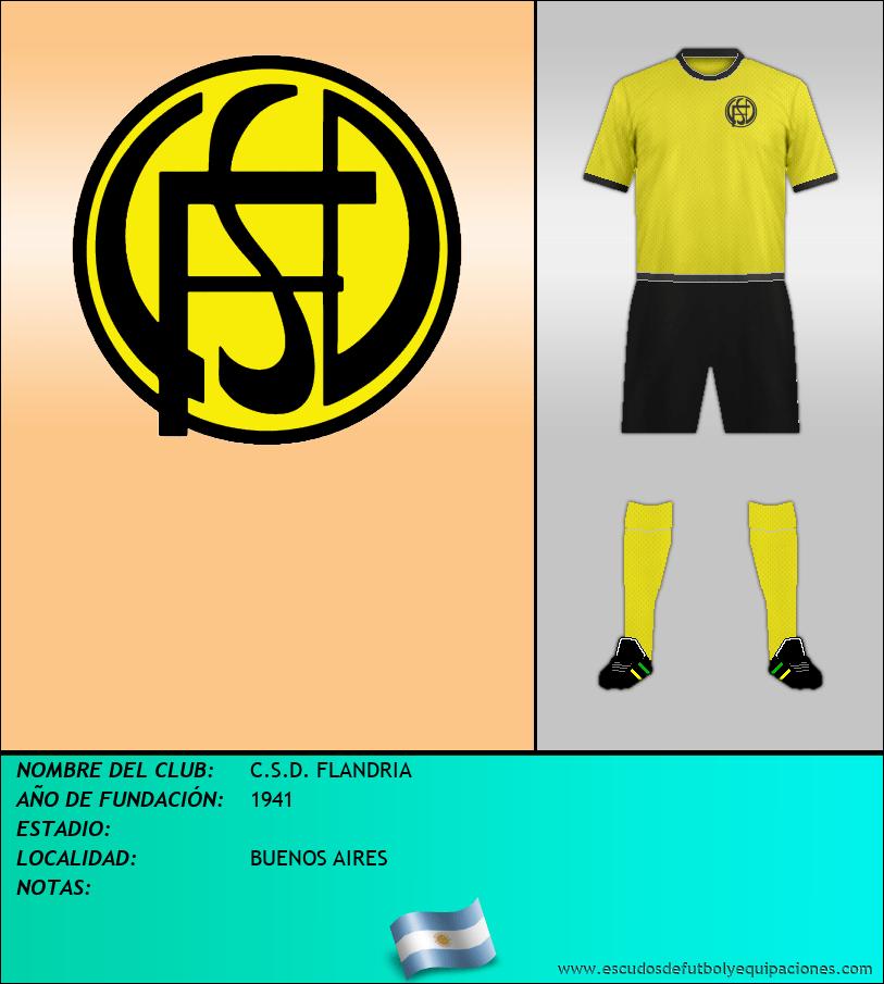 Escudo de C.S.D. FLANDRIA