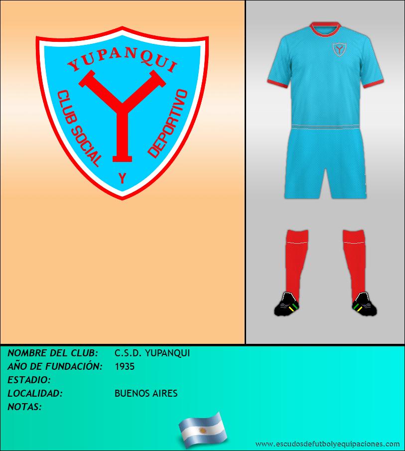 Escudo de C.S.D. YUPANQUI