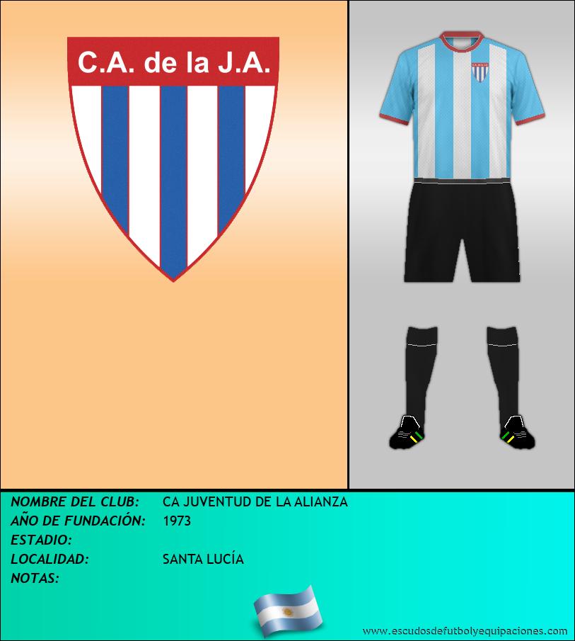 Escudo de CA JUVENTUD DE LA ALIANZA